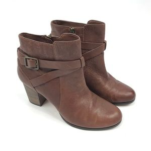 Cole Haan Cassidy Buckle Leather Bootie 3286